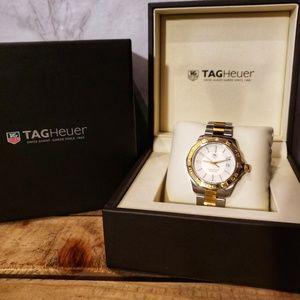 TAG Heuer Men's Aquaracer 300m Two Tone Watch